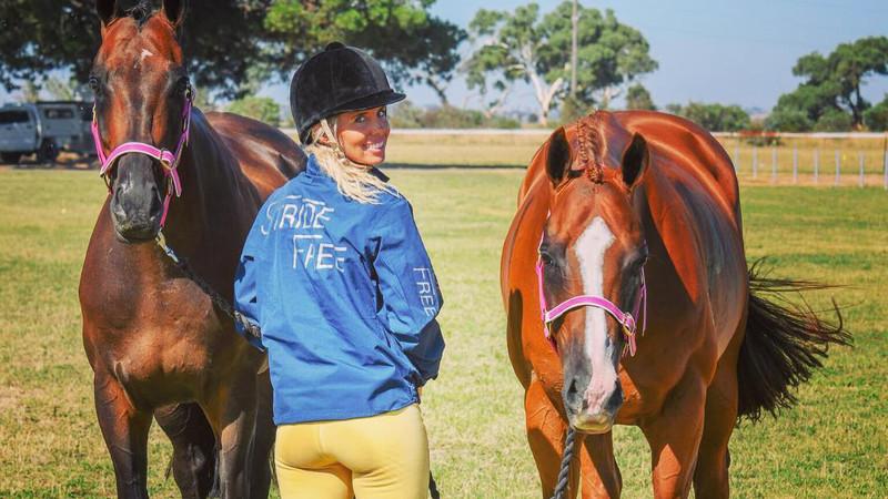 CHYNNA MARSTON - RECYCLED RACEHORSES