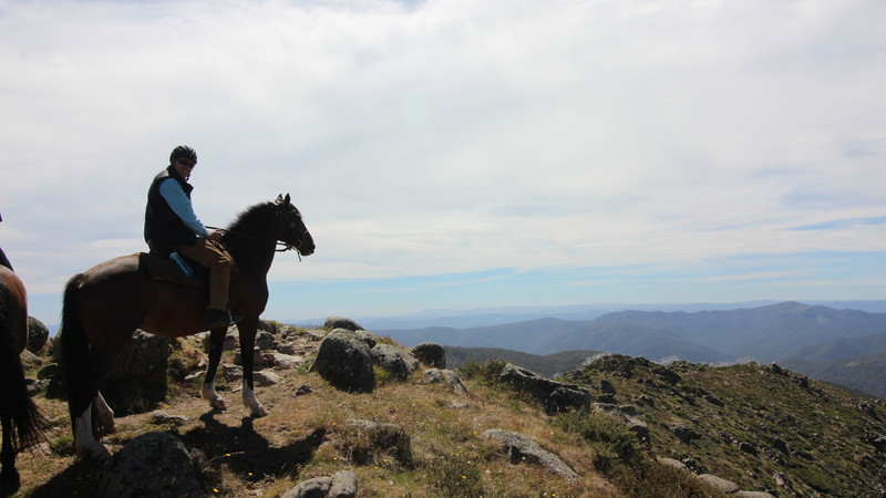 RIDING VICTORIA'S HIGH COUNTRY