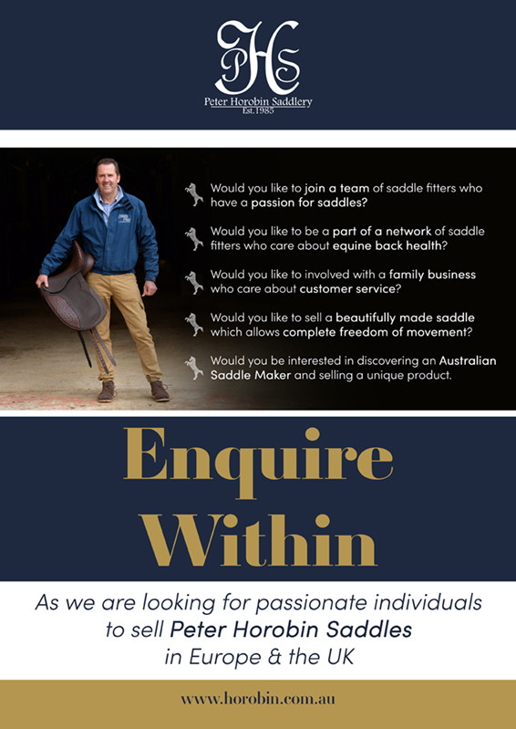 Horobin Saddlery Careers