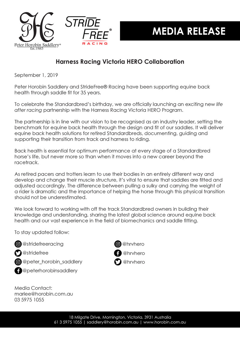 Media Release Hero Collaboration