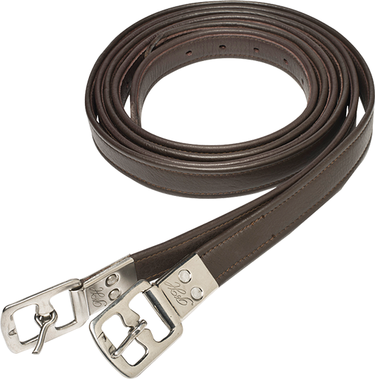 Ph Stirrup Leathers Brown 3235